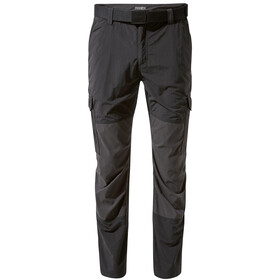 Craghoppers NosiLife Pro Adventure Pantalones Hombre, black/black pepper